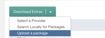 Upload a Package